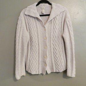 J Jill Hand Knit Sweater Size Medium